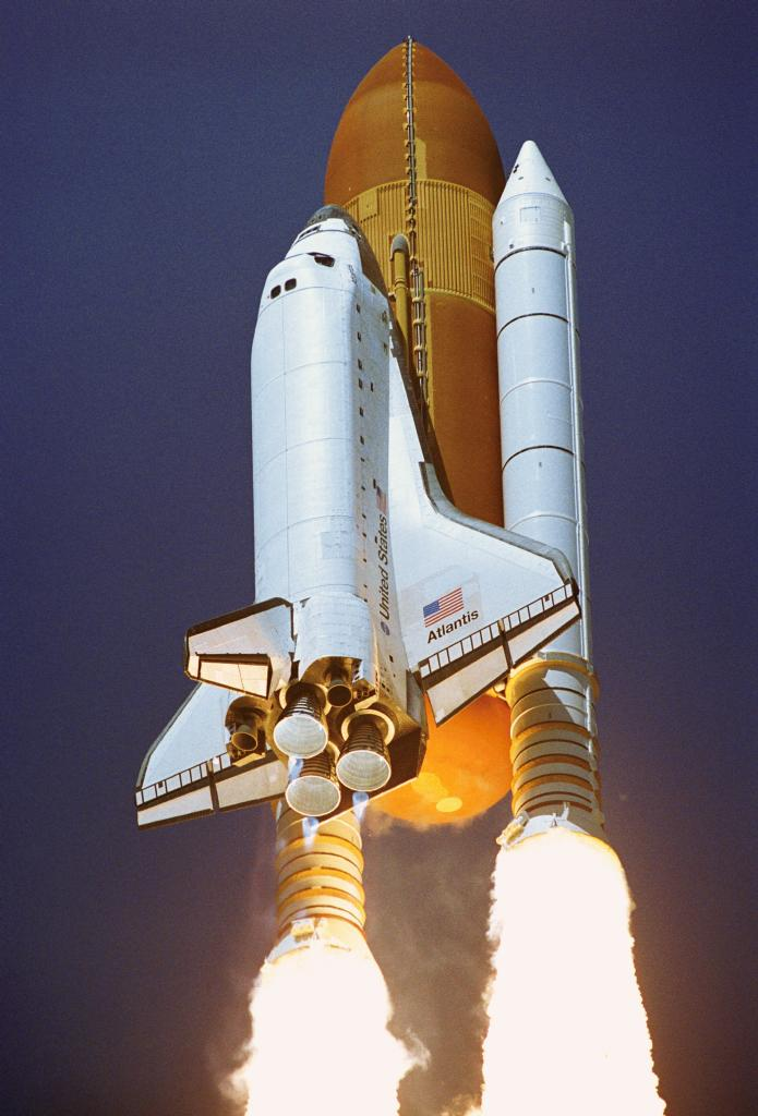 space shuttle startup - photo #36